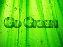 Disparaissent le vert Photo libre de droits