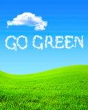 disparaissent le vert Images libres de droits
