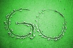 DISPARAISSENT le vert coloré Images libres de droits