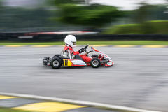 Disparaissent les sports de emballage de kart photo libre de droits