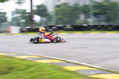 Disparaissent les sports de emballage de kart photos libres de droits