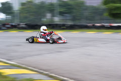 Disparaissent les sports de emballage de kart photos stock