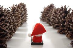 Disparaissent Santa ! Images stock