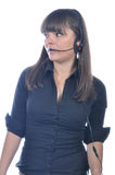 Dispatcher on duty royalty free stock image