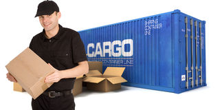 Dispatching freight Stock Images