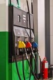 Dispensador del combustible del coche foto de archivo libre de regalías