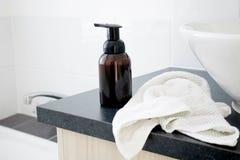Dispensador del jabón Fotografía de archivo
