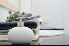 Dispensador del jabón Imagen de archivo