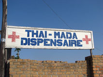 Dispensario malgascio Immagini Stock