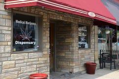 Dispensario medico della marijuana, Ypsilanti, MI Immagini Stock