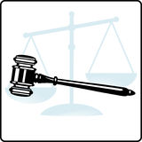 Dispensation of justice Stock Photo