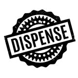 Dispense rubber stamp Royalty Free Stock Photography