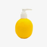 Dispenser pump  plastic bottle with orange shape Stock Photography