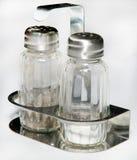 Dispenser for salt and pepper Royalty Free Stock Photo