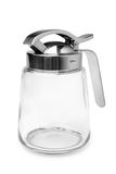Dispenser for syrup, milk, honey Royalty Free Stock Images