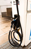 Dispensing fuel. Stock Photography