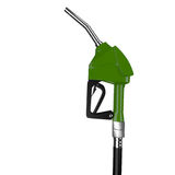 Dispensing petrol green. Stock Photos