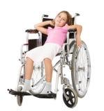 Disperazione di handicap per il bambino immagine stock libera da diritti