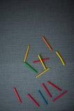 Dispersão aleatória de varas do recolhimento Fotografia de Stock Royalty Free