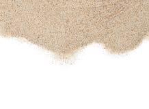 Dispersão da areia fotos de stock