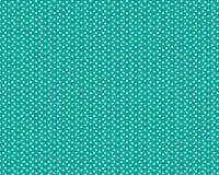 Dispersión de pequeños círculos blancos en un fondo verde stock de ilustración