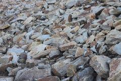 Dispersión de rocas fotos de archivo