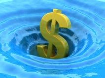 Dispersori del dollaro Immagine Stock