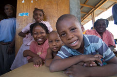 Displaced Children Stock Image