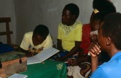 Displaced people in Burundi. Stock Photos