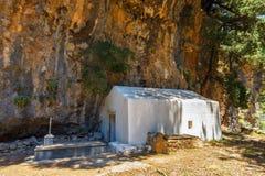 Displaced village Samaria in Samaria Gorge, Greece Royalty Free Stock Images