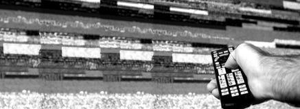 Displasy à distance de mauvais signal de main d'homme mauvais Photographie stock libre de droits