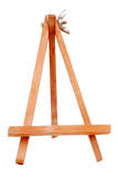 Display board stand. In isolate background with clipping path royalty free stock photo