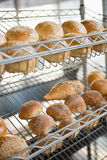 Display of breads freshly baked Royalty Free Stock Images