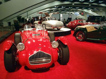 Display of Classic Cars at Auto Show royalty free stock images