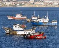 Cascais harbour Stock Photos