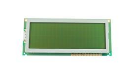 Display a cristalli liquidi vuoto (LCD) Immagini Stock
