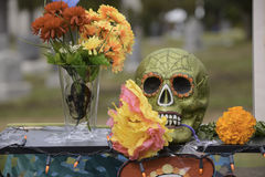 Display during dia de Muertos Stock Image