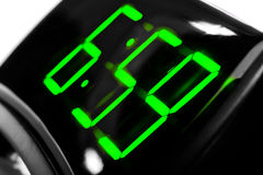 Display digital clock Royalty Free Stock Images