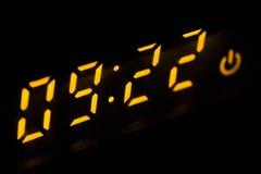 Display digital clock Royalty Free Stock Image