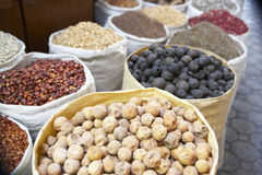 Display Of Dried Produce In Souk Royalty Free Stock Photos
