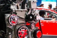 Display engine at auto expo 2106 delhi Stock Photos