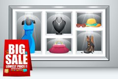 Display of Fashion Accessory Stock Photography