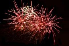 display fireworks Στοκ Φωτογραφία