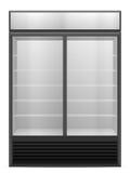Display fridge Stock Photography