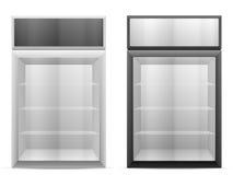Display fridge Royalty Free Stock Image