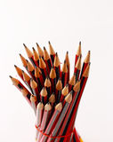 A display of a group of pencils Stock Images