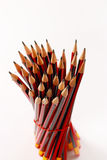 A display of a group of pencils Stock Photography