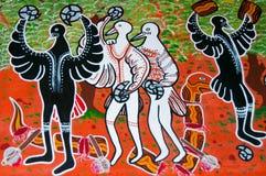 Aboriginal Art stock photo