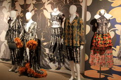 Display of interesting dance costumes,National Museum of Dance and Hall of Fame,Saratoga Springs, New York,2015 Royalty Free Stock Photography