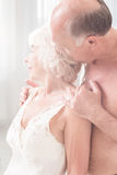 Display of love Stock Image